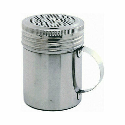 Stainless Steel Screw Top Shaker/Dredger - Sugar Shaker Dredger