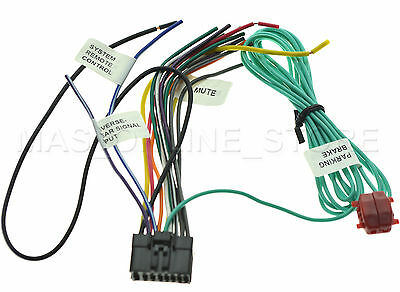 Wire Harness For Pioneer Avh x4600bt Avhx4600bt pay Today performance teknique icbm 9778 12 pin power plug harness $19 99 performance teknique icbm 9778 wire diagram at edmiracle.co