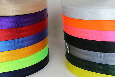 Seat Belt Webbing 100mts 25mm Sewing Horse rugs, bags, tents, canvas,cars, truck