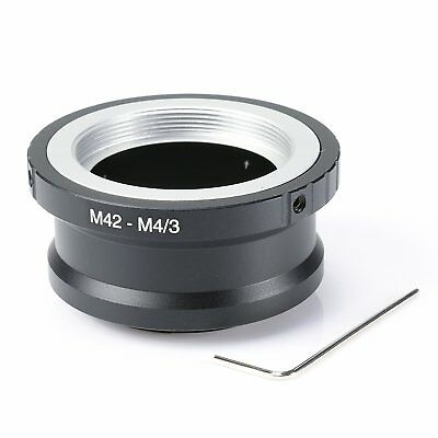 M42 Lens to Micro 4/3 M4/3 Adapter EP1 EP3 EPL1 EPL2 EPL3 G1 GF1 GH1 metal