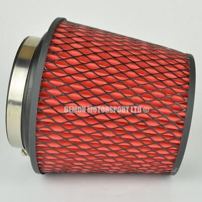 "CLEARANCE Air Filter Red For Induction Kit 4"" Inch or Select Size (35918)"