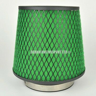 "CLEARANCE Air Filter Green For Induction Kit 3"" Inch or Select Size (35935)"