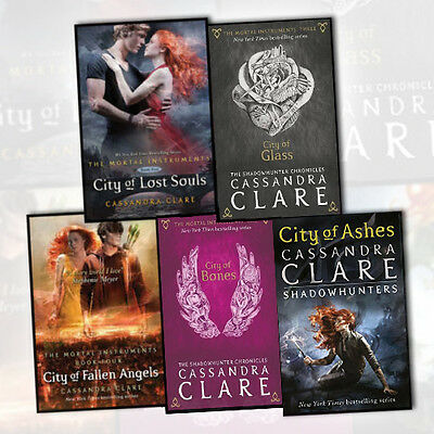 Cassandra Clare Mortal Instruments Collection 5 books Set City of Bones New Pack