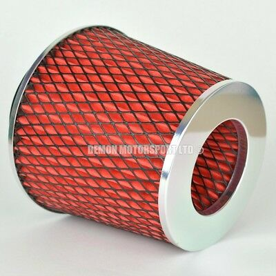 """CLEARANCE Air Filter Red For Induction Kit 2.5"""" Inch or Select Size (59893)"""
