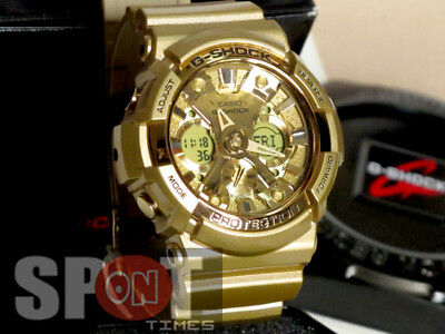 Casio G-Shock Gold Analog Digital Resin 200M Men's Watch GA-200GD-9A