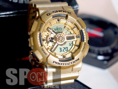 Casio G-Shock Gold Analog Digital Resin Men's Watch GA-110GD-9A