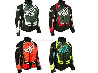 Fly Racing '15 SNX Pro Insulated Snowmobile Jacket Reinforced Vented Parka Coat