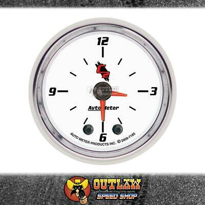 "Autometer Clock In Dash 2.1/16"" Quartz Movement - Au7185"