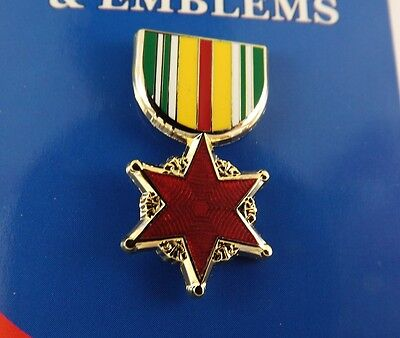 "NEW Lapel Pin /""AIRMANS MEDAL/"" ENAMELED LIFETIME GUARANTEE 1-3//16/"""