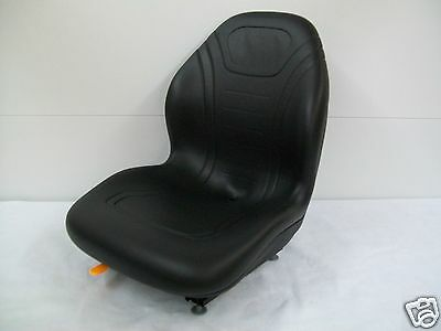 High Back Black Seat Bobcat 463,542,543,642,643,742,743,843,t190 Skid Steer #cd