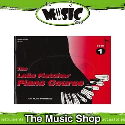 New The Leila Fletcher Piano Course Book 1 Music Tuition Book
