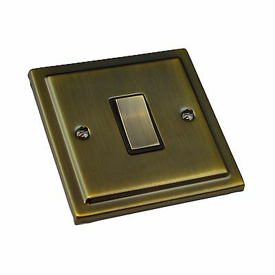 Antique Brass Switches and Sockets - Regency Range (Full Range)