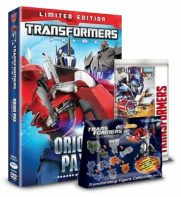 Transformers Prime Season 2 Volume 1: Orion Pax - Limited Edition (DVD)