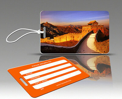 GREAT WALL Of CHINA Luggage Tag