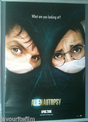 Cinema Poster: ALIEN AUTOPSY 2006 (Advance One Sheet) Ant McPartlin Dec Donnelly