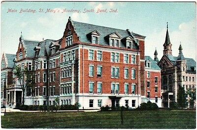 PC: Main Building, St Mary's Academy, South Bend, Ind
