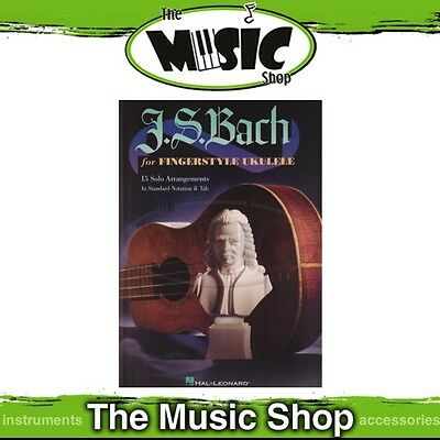 New J.S. Bach for Fingerstyle Ukulele Music Book - Uke Songbook