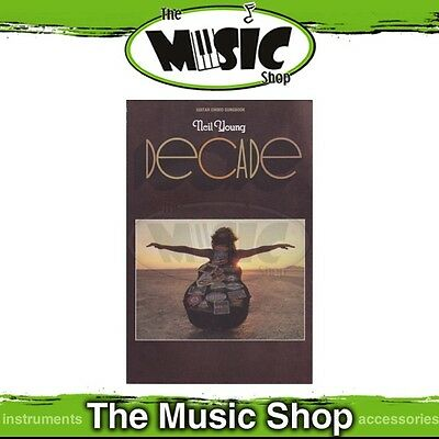 New Neil Young 'Decade' Guitar Chord Songbook Music Book