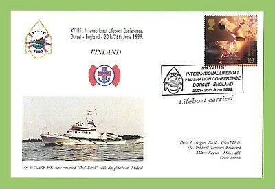 GB 1999 18th Int Lifeboat Conference Finland Commemorative Cover