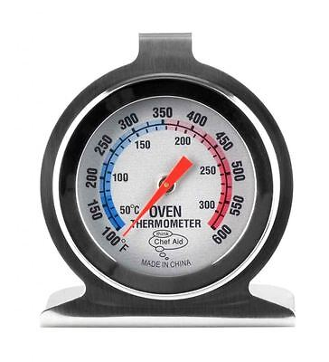Chef Aid Stainless Steel Oven Food Thermometer