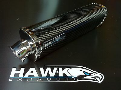 BMW K1300S 2009+ Carbon Tri Oval Exhaust End Can,Silencer.Road Legal