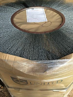"United Rotary Sweeper Brush #10 Wire Wafer, 19 1/2"" x 46"""
