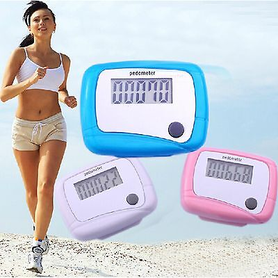 Useful Lcd Pedometer Step Walking Distance Counter Jogging Running Best