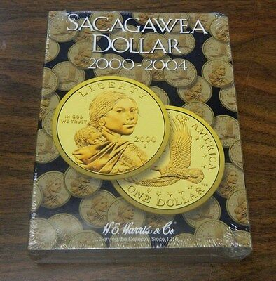 NEW Sacagawea Dollar Coin Album (2000-2004)  Coin book/folder FREE SHIPPING