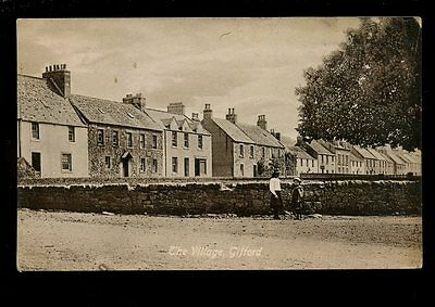 Scotland East Lothian GIFFORD The Village used 1910s PPC by Valentine