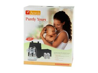 *** NEW // SEALED BACKPACK Breast Pump Ameda Purely Yours Dual Electric In Style