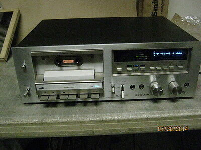 PIONEER CT-F750 STEREO CASSETTE TAPE DECK