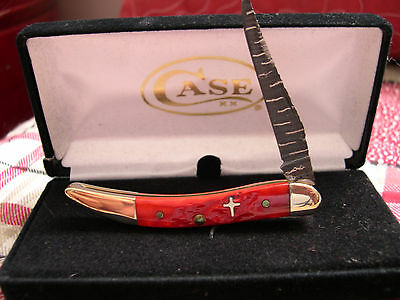 (Rare) CASE Toothpick Knife  1 of 5  YELLOWHORSE CRACKED ICE BLADE
