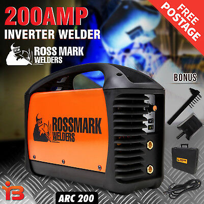 NEW CAMPMARK Welder Inverter ARC 200Amp Welding Machine DC iGBT Stick Portable