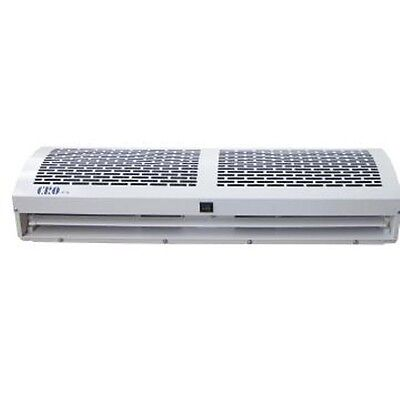 Air curtain - 1200 mm, remote control 2 speeds, Off White