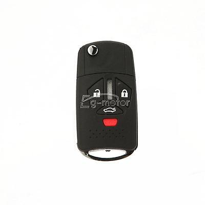 Remote Folding Key Case Shell Fob Replace For 2010 Mitsubishi Endeavor 2006-2008