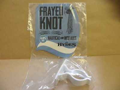 Hydes Frayed Knot Ale Beer Pump Clip face display New with clip