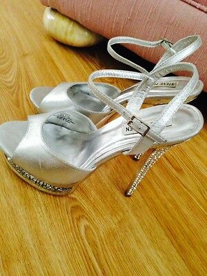 Size9 Silver Party/Prom shoes