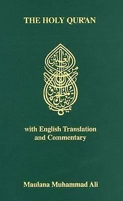 The Holy Qur'an with English Translation and Commentary: With English Translanti