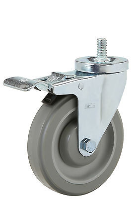 "Total Lock Stem Caster: TS 1/2-13x1. Polyurethane Wheel: 4"" x 1-1/4"". Bearing."