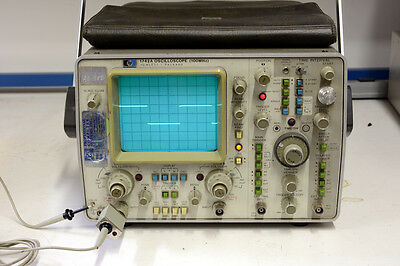 HP Dual Channel 100MHz Oscilloscope 1742A, w/ HP 10081A probe