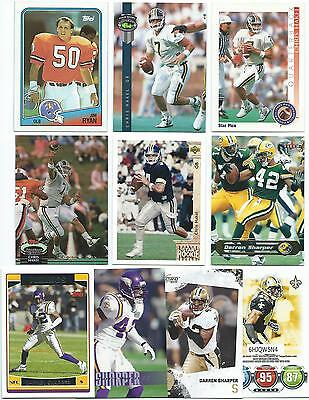 40 Different William & Mary Alumni Football Cards; 1988-2010