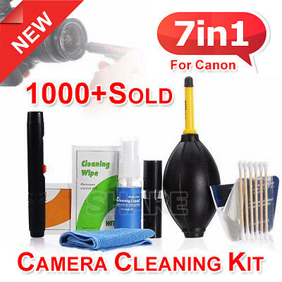 OZ For Nikon 7 in 1 Professional Brush Camera Lens Cleaning Cleaner Set Kit