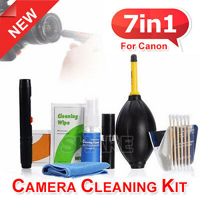 Professional DSLR Lens Camera Cleaning Kit / Spray Bottle Lens Pen Brush Blower