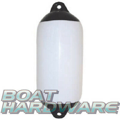 Inflatable Boat Yacht Fender 240x700mm Heavy duty Bumper Flexible White Vinyl