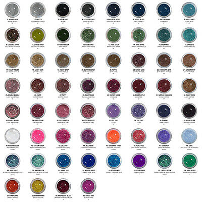 Pick Your Color Eye Kandy Sprinkles Eye & Body Glitter Makeup 60 Colors Avail