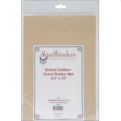 "Spellbinders 8.5"" X 12"" Rubber Embossing Mat For Grand Calibur Die Cut Machine"