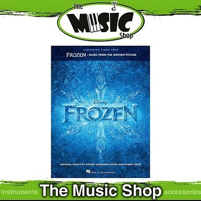 New Frozen Movie Soundtrack for Beginning Piano Solo Music Book