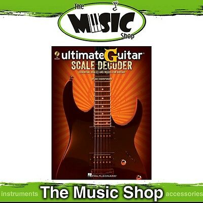 New Ultimate Guitar Scale Decoder Music Tuition Book & CD