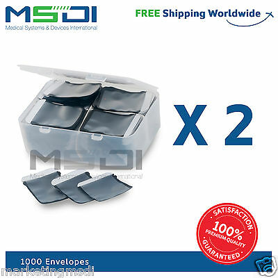 1000 x Barrier Envelopes size 2 for PSP scanner