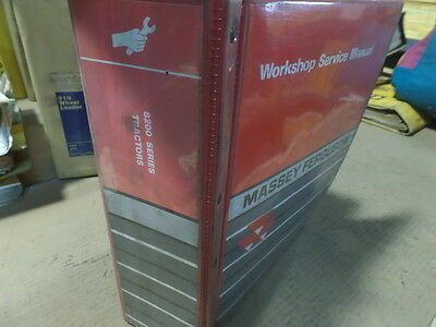 Massey Ferguson Mf 8200 Series Tractor Workshop Manual Engine Not Included